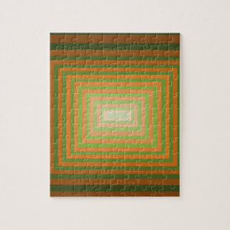 Arte cuadrado gráfico moderno de la ilusión óptica rompecabezas con fotos