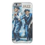"""Arte-Cubierta """"jazz """" de Iphone 6 Funda De iPhone 6 Barely There"""