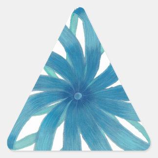 Arte curativo #1 de Chakra de la garganta Pegatina Triangulo Personalizadas