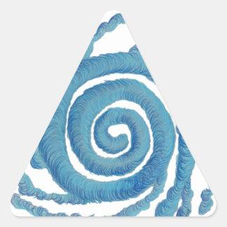 Arte curativo #3 de Chakra de la garganta Calcomanía De Triangulo Personalizadas