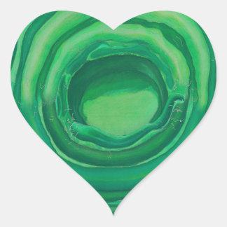 Arte curativo de Chakra del corazón - #1 Pegatina En Forma De Corazón