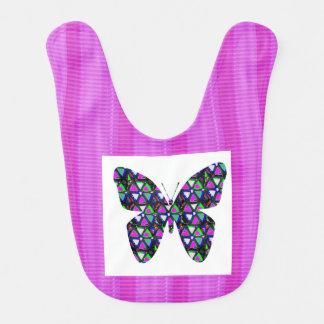 Arte curativo de la comodidad de la MEJOR mariposa Babero
