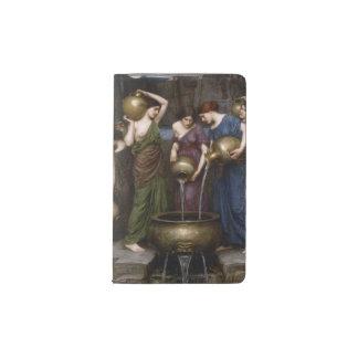Arte Danaides del Waterhouse del Pre-Raphaelite Funda Para Libreta Y Libreta Pequeña Moleskine