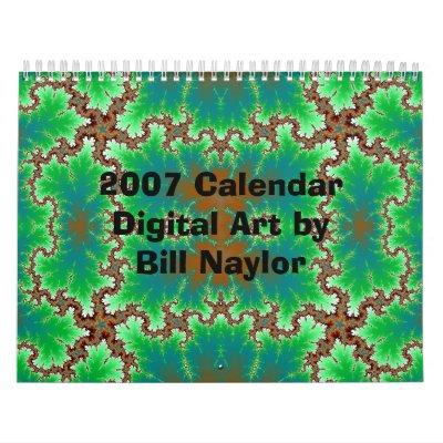 Arte de 2007 Digitaces del calendario de Bill…