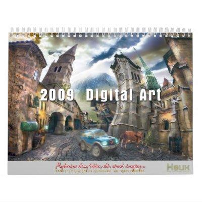 Arte de 2009 Digitaces - calendario