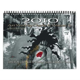 Arte de 2010 calendarios de Charles E. Watson, Jr.