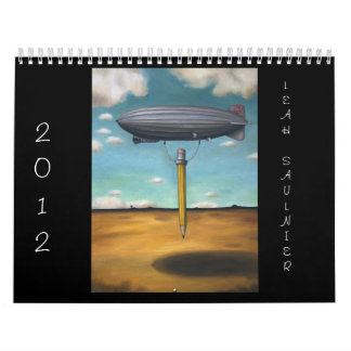 Arte de 2012 calendarios de Leah Saulnier