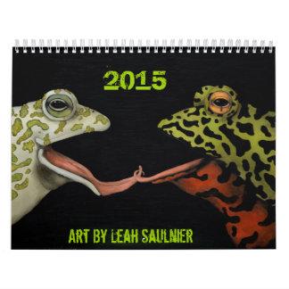 Arte de 2015 calendarios de Leah Saulnier