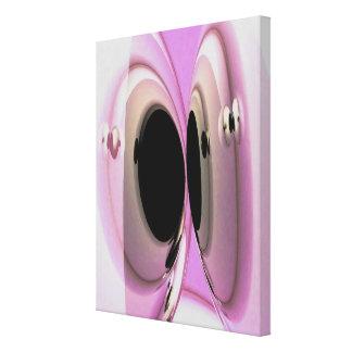 arte de 3D Digitaces - pintura rosada de Flloyd Impresión En Lona Estirada