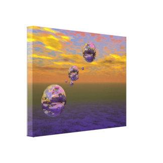arte de 3D Digitaces - punto de la luz Lienzo Envuelto Para Galerías