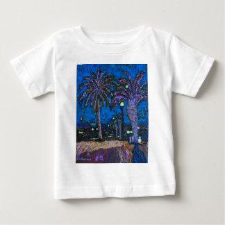 Arte de acrílico de la pintura de las palmeras de camisas