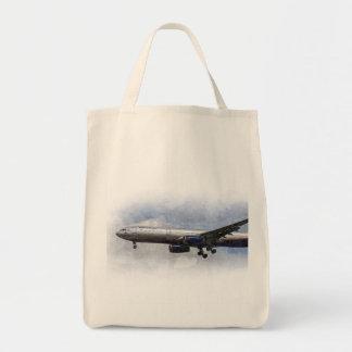 Arte de Aeroflot Airbus A330 Bolsa Tela Para La Compra