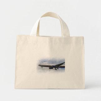 Arte de Aeroflot Airbus A330 Bolsa Tela Pequeña