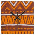 Arte de África Reloj