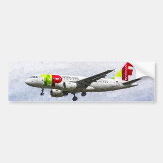 Arte de Air Portugal Airbus A319 Pegatina Para Auto