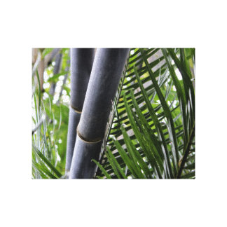 Arte de bambú de la pared del diseño impresiones de lienzo