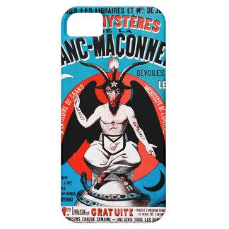Arte de Baphomet del vintage en el caso del iPhone iPhone 5 Cárcasas