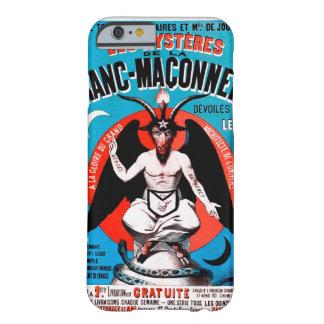 Arte de Baphomet del vintage en el caso del iPhone Funda Barely There iPhone 6