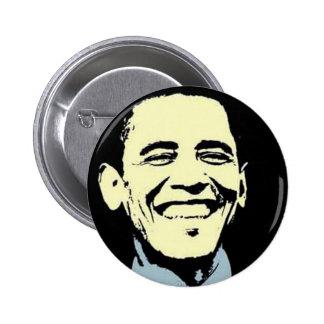 Arte de Barack Obama Pin Redondo De 2 Pulgadas