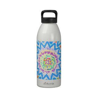 Arte de BlueStar que calma: Compre el arte que ust Botella De Agua Reutilizable