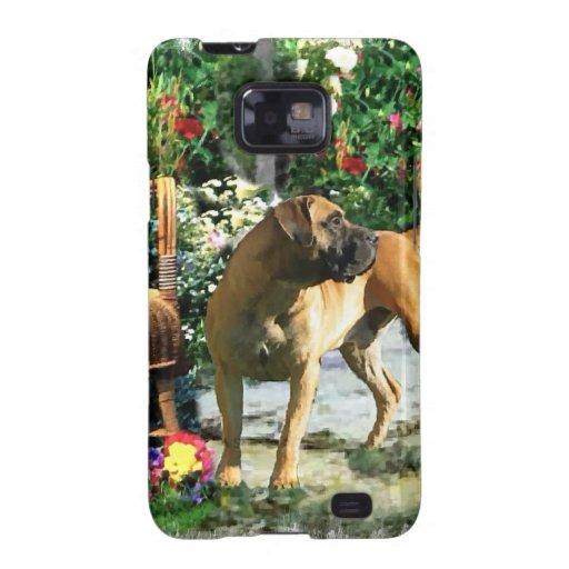 Arte de Boerboel Samsung Galaxy S2 Carcasa