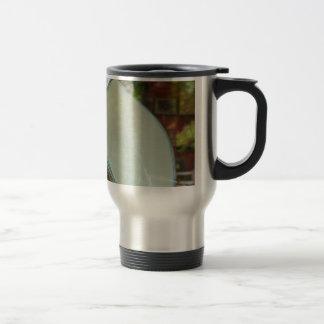 Arte de cerámica taza de viaje