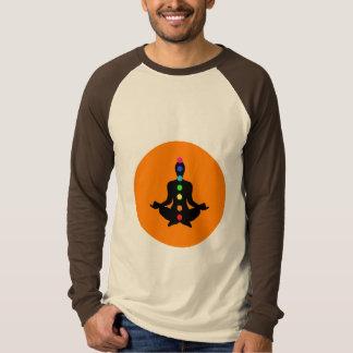 Arte de Chakra - camisa de manga larga de la yoga
