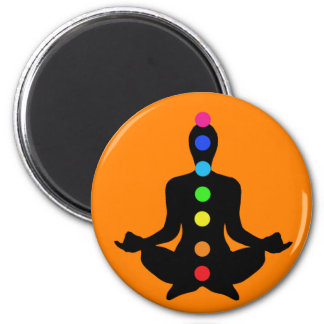 Arte de Chakra - imán de la yoga