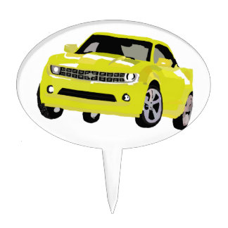 Arte de Chevy Camaro Figura Para Tarta