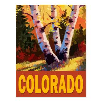 Arte de Colorado Tarjeta Postal