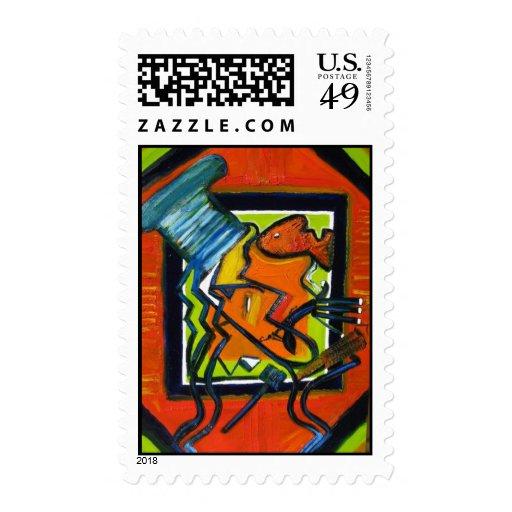 Arte de Comtemporary, arte moderno abstracto, Sellos