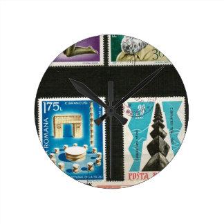 Arte de Constantino Brancusi en sellos Relojes De Pared