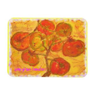 arte de cosecha propia de los tomates iman flexible