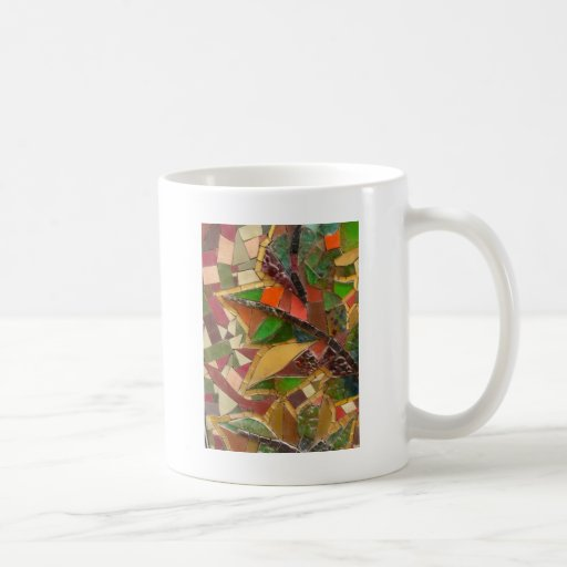 arte de cristal coloreado vo1 tazas de café