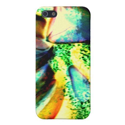 Arte de cristal de la caja de iPod del mosaico de  iPhone 5 Funda