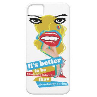 Arte de Dada del labio de Wellcoda Merilyn Monroe iPhone 5 Funda