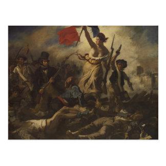 Arte de Delacroix Tarjetas Postales