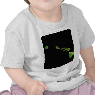 Arte de Digial de la cadena de la isla de Hawaii Camiseta