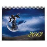 Arte de Digitaces de Abie Davis - colección Calendario