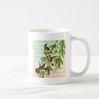 Arte de Digitaces del colibrí Taza De Café