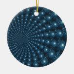 Arte de Digitaces del navidad de la galaxia de Man Adornos De Navidad