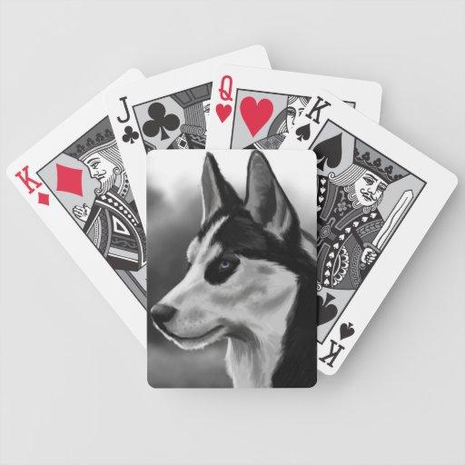 Arte de Digitaces del retrato del perro del husky  Barajas