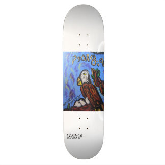 Arte de Eagle Skateboard