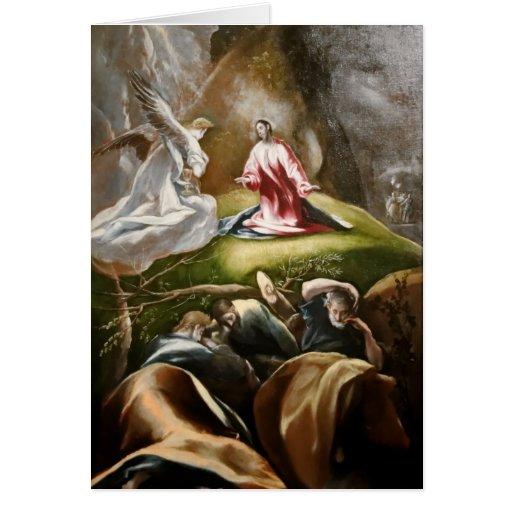 Arte de El Greco Tarjeta De Felicitación