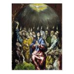 Arte de El Greco Tarjeta Postal