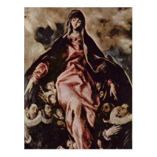Arte de El Greco Postal
