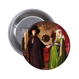 Arte de enero Ven Eyck Pin