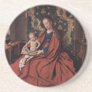 Arte de enero Ven Eyck Posavaso Para Bebida