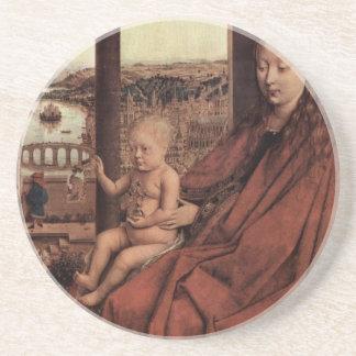 Arte de enero Ven Eyck Posavasos Cerveza