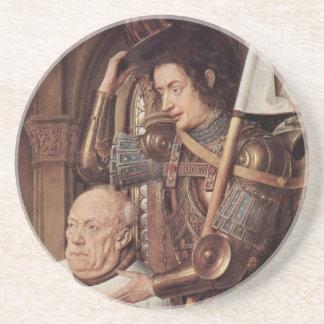 Arte de enero Ven Eyck Posavasos Manualidades